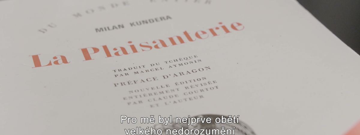 A Documentary About Milan Kundera